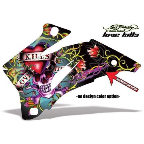 Комплект графики AMR Racing Ed Hardy Love Killls (ОUTLANDER MAX G1