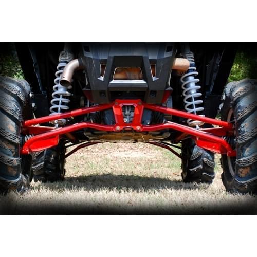 Спортивные задние нижние красные рычаги High Lifter для Polaris RZR-1000