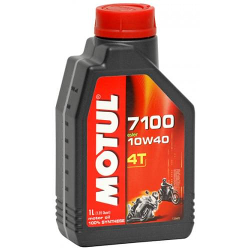 Моторное масло синтетическое Motul 7100 4T 10W40