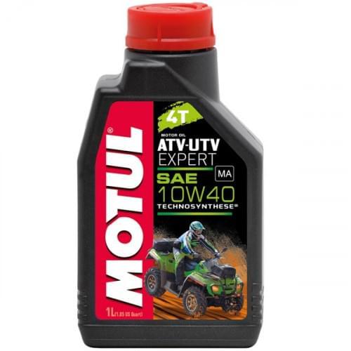 Моторное масло полусинтетическое Motul ATV-UTV Expert 10W40 4T 1 Литр