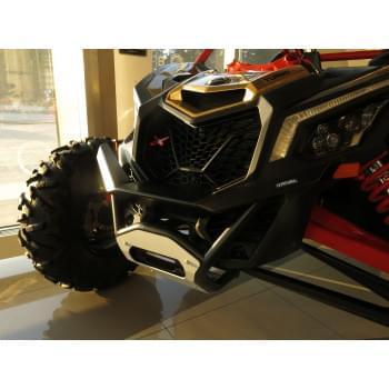 Бампер передний (new version) с креплением лебедки для Maverick X3